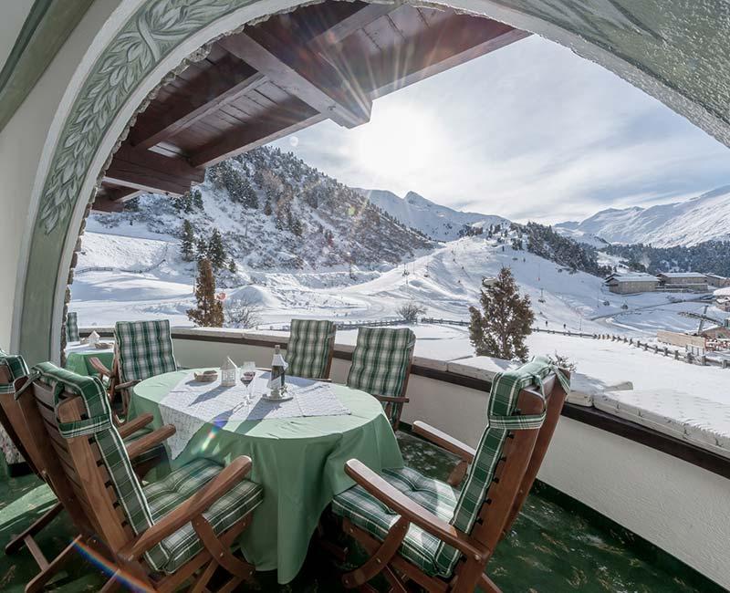 Jagd-Haus Panorama in Obergurgl Urlaub im Ötztal in Tirol