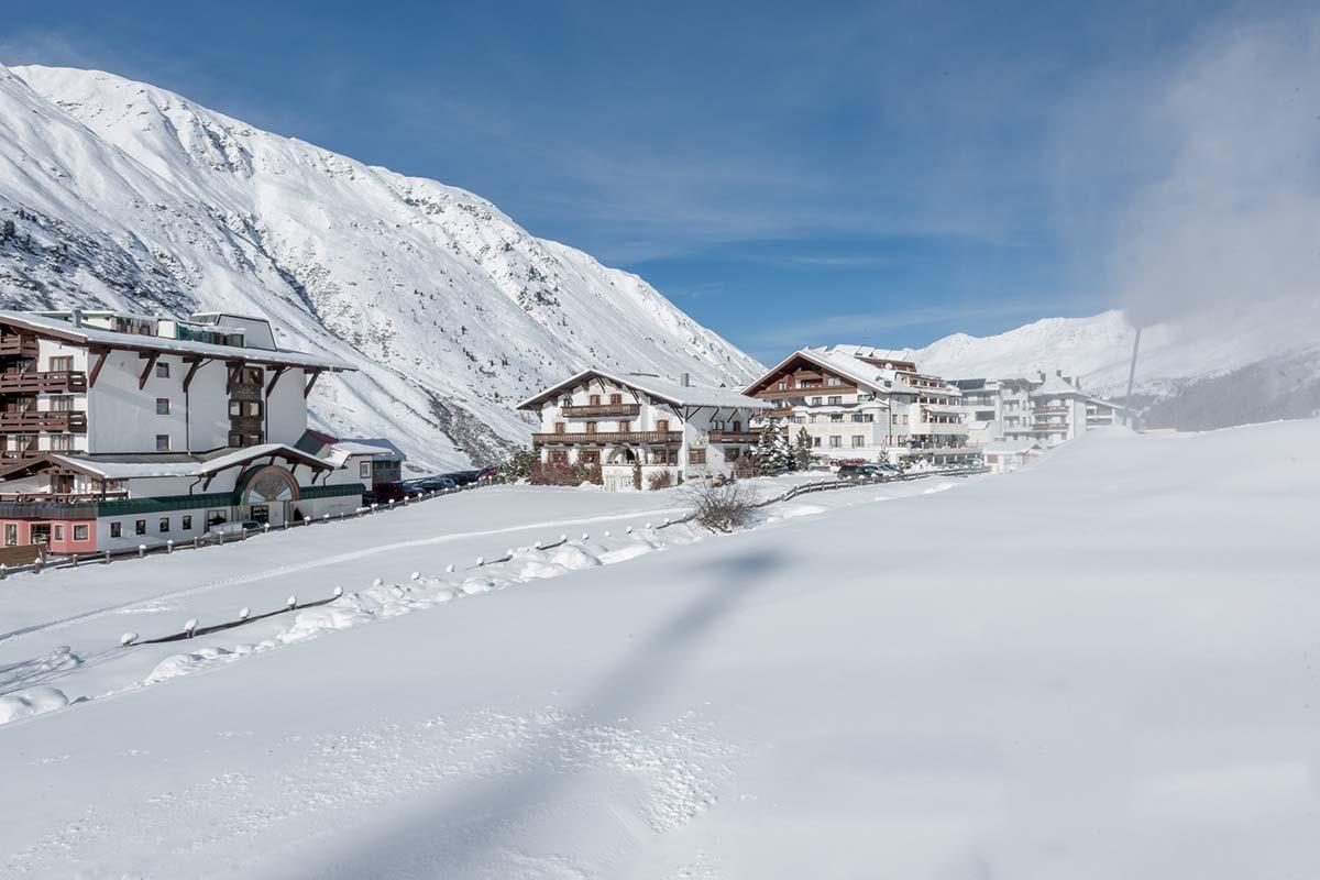 Jagdhaus Panorama Skiurlaub in Obergurgl direkt an der Piste