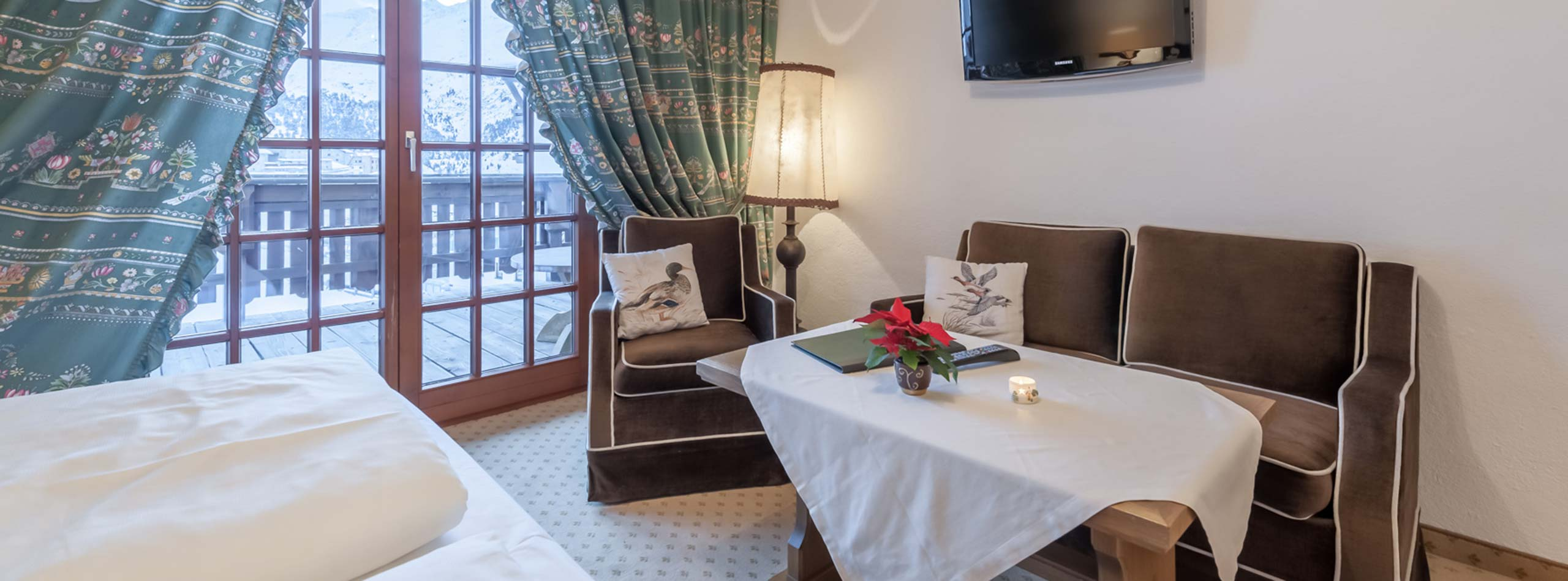 Zimmer und Angebote im Jagdhaus Panorama in Obergurgl